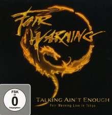 Fair Warning: Talking Ain't Enough: Live In Tokyo (Ltd. Box-Set 3CD+2DVD), 3 CDs