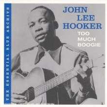 John Lee Hooker: Too Much Boogie, CD