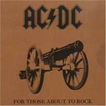 AC/DC: For Those About To Rock (remastered) (180g), LP