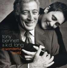 k. d. lang: Wonderful World (mit Tony Bennett), CD