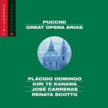 Giacomo Puccini (1858-1924): Great Opera Arias, CD