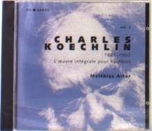 Charles Koechlin (1867-1950): Kammermusik für Oboe Vol.2, CD