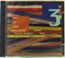 Streiff Trio 3 - Not 12 Ton, CD