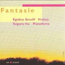 Egidius Streiff - Fantasie, CD