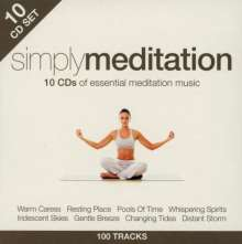 Simply Meditation, 10 CDs