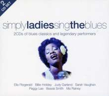 Various Artists: Simply Ladies Sing The Blues, 2 CDs