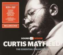 Curtis Mayfield: Essential Collection (2 CD + DVD), 2 CDs