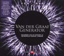 Van Der Graaf Generator: Live At Metropolis Studios 2010 (2 CD + DVD), 2 CDs