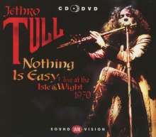 Jethro Tull: Nothing Is Easy: Live At The Isle Of Wight 1970 (CD + DVD), 2 CDs