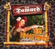 The Damned: Tiki Nightmare: Live At Shepherds Bush Empire, 2002 (2CD + DVD), 2 CDs und 1 DVD