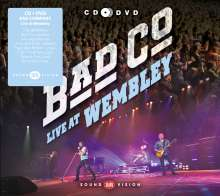 Bad Company: Live At Wembley 2010, 1 CD und 1 DVD