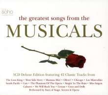Filmmusik: Greatest Songs From The Musicals, 3 CDs