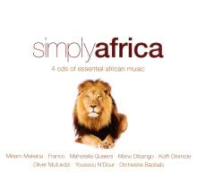 Simply Africa, 4 CDs