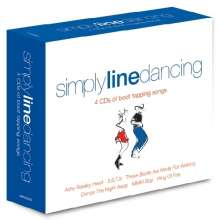 Simply Line Dancing, 4 CDs