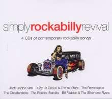 Simply Rockabilly Revival, 4 CDs