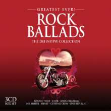 Greatest Ever Rock Ballads, 3 CDs