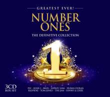 Number Ones - Greatest Ever, 3 CDs