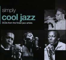 Simply Cool Jazz (Metallbox), 3 CDs