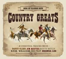 Country Greats, 2 CDs
