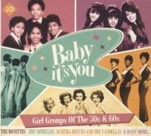 Baby Its You: Girl Groups Of The 50s & 60s, 2 CDs