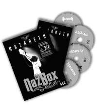 Nazareth: The Naz Box 1971 - 2011, 4 CDs