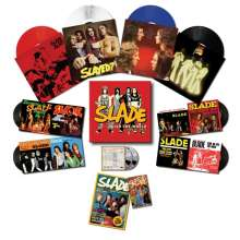 Slade: When Slade Rocked The World 1971 - 1975 (180g) (Limited Edition Box Set) (Colored Vinyl), 4 LPs