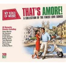 That's Amore: A Collection Of The Finest Love Songs, 2 CDs