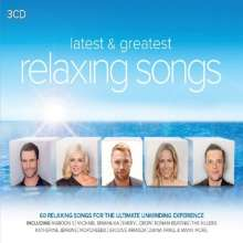 Latest & Greatest Relaxing Songs, 3 CDs