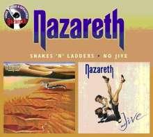 Nazareth: Snakes 'n' Ladders / No Jive (Remastered + Bonus Tracks), 2 CDs