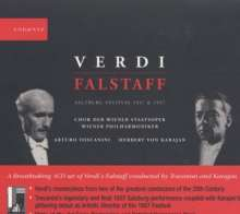 Giuseppe Verdi (1813-1901): Falstaff (in 2 Einspielungen), 4 CDs