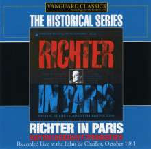 Claude Debussy (1862-1918): Richter In Paris, CD