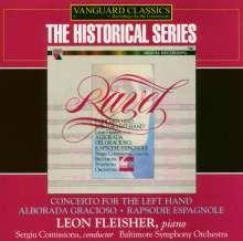 Maurice Ravel (1875-1937): Klavierkonzert f.die linke Hand, CD