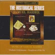 Samuel Barber (1910-1981): Orchesterwerke, CD