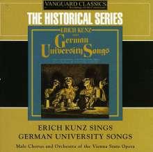Erich Kunz singt deutsche Universitätslieder, 2 CDs