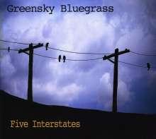 Greensky Bluegrass: Five Interstates, CD