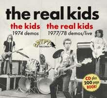The Real Kids: The Kids 1974 Demos / The Real Kids 1977/78 Demos Live, CD