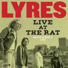 Lyres: Live At The Rat,September 3 1980, 2 LPs