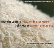 Blue Heron - Music from the Peterhouse Partbooks Vol.3, CD