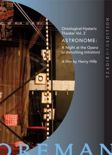 John Zorn & Richard Foreman: Astronome: A Night At The Opera - A Film by Henry Hills, DVD