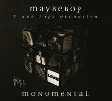 Maybebop & NDR Pops Orchestra: Monumental: Live 2012, CD