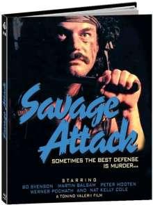 Savage Attack - Brothers in Blood (Blu-ray im Mediabook), Blu-ray Disc