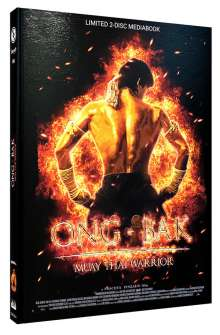 ONG-BAK (Blu-ray & DVD im Mediabook), 1 Blu-ray Disc und 1 DVD