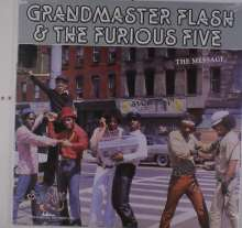 Grandmaster Flash & The Furious Five: The Message, LP