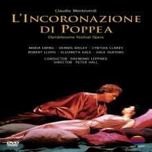 Claudio Monteverdi (1567-1643): L'incoronazione di Poppea, DVD