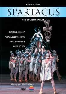 Bolschoi Ballett:Spartacus (Khachaturian), DVD