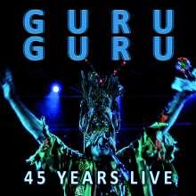 Guru Guru: 45 Years Live, 2 CDs