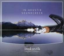 Der In-Akustik Soundcheck, CD