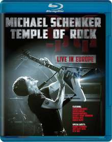 Michael Schenker: Temple Of Rock: Live In Europe (Limited Deluxe Edition), 2 CDs, 1 Blu-ray Disc und 1 DVD