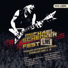 Michael Schenker: Fest - Live Tokyo International Forum Hall A, 2 CDs