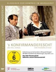 Komödie im Marquardt - 's Konfirmandefescht (Sei still Kerle), DVD